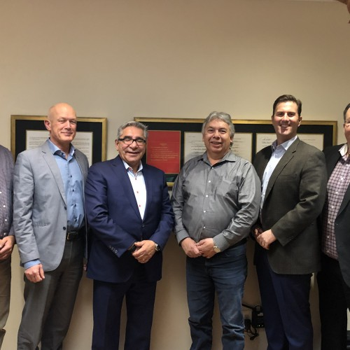 Meeting with the Grand Chief Dr. Abel Bosum and Chief Thomas Neeposh – 2018